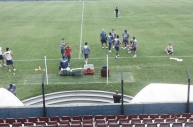 Foto del entrenamiento de esta mañana. (Pasión Tricolor Radio)