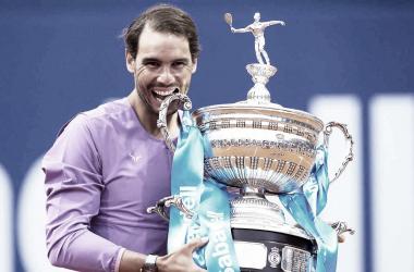 Nadal obtuvo su título N°12 en Barcelona. Foto: ATP
