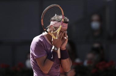 El español vuelve a perder en cuartos de final de un Masters 1000. Foto: Mutua Madrid Open