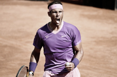 Nadal busca levantar su décimo título en el Foro Itálico. Foto: ATP