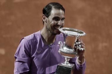 El manacorí igualó a Djokovic en cantidad de Masters 1000 ganados (36). Foto: ATP