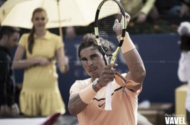 Rafa Nadal celebrando una victoria | Foto: Marc González - VAVEL
