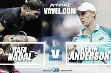 Rafa Nadal y Kevin Anderson lucharán por el título en 'Flushing Meadows'. Foto: VAVEL