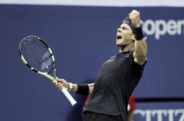 Memorable triunfo de Rafael Nadal ante Khachanov