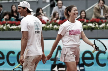 Nadal y Muguruza en 2016. Foto: www.madrid-open.com