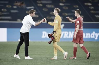 Nagelsmann diz que 'um pouco de sorte' ajudou RB Leipzig diante do Hoffenheim