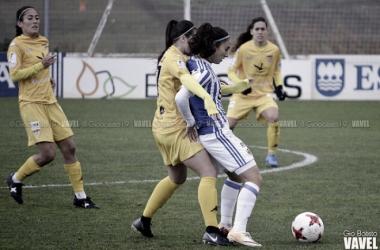 Nahikari García una jugadora determinante para el equipo de Arconada. Foto: Giovanni Batista