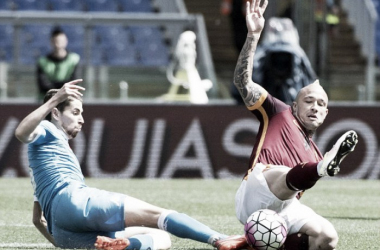 Above:It has been reported that Chelsea have agreed a deal for Radja Nainggolan | Photo: PA