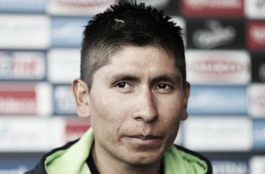 """Nairo Quintana: """"Llego bien a la Vuelta al País Vasco"""""""