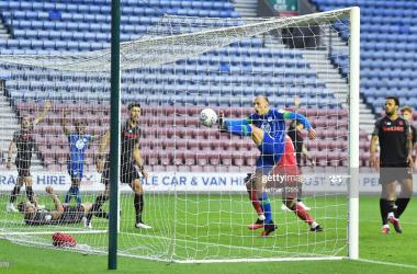 Wigan Athletic 3-0 Stoke City: Naismith double edges Latics closer to survival