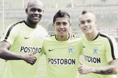 Támara y Maya son dos buenos jugadores surgidos de las divisiones inferiores que harán sus armas en Leones FC. | Foto: Sebastián Támara twitter
