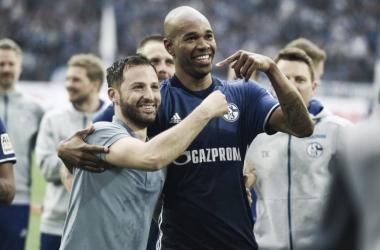 En dos temporadas, Naldo se ha ganado a la afición del Schalke. Foto: bundesliga.com
