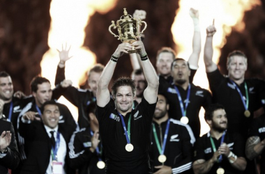 Richie McCaw has retired from rugby following his second World Cup triumph (image via: 3news)