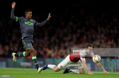 Sporting empatou a zero na visita ao Arsenal. GettyImages