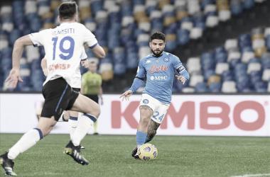 Napoli empata sem gols com Atalanta e vaga na final da Coppa Italia segue em aberto