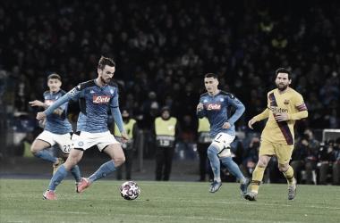 Cinco meses depois, Barcelona e Napoli decidem futuro na Champions League