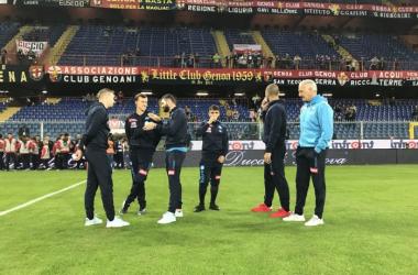 Serie A, le formazioni ufficiali di Genoa - Napoli