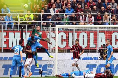 Serie A - Milan Napoli - Foto Ssc Napoli Twitter