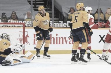 Los Predators siguen buscando buen rumbo en la temporada 2020 - 21 - NHL.com