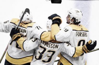 Subban, Arvidsson y Forsberg, sus bajas lastran a los Preds | Foto Getty Images