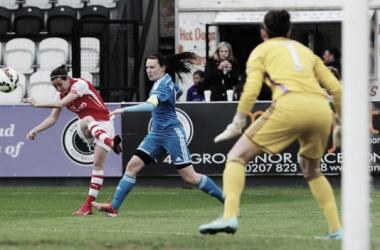 Arsenal Ladies 4-1 Sunderland Ladies: Natalia Pablos Sanchon brace for Arsenal Ladies sets up midweek top two clash