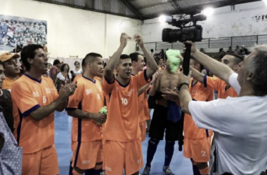 """La Ñata se quedó con el cuadrangular """"Felix Zugasti"""" (Foto: Pinocho Futsal)"""