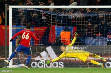 Natcho's penalty saw the game finish 1-1 (photo: Mikhail Japaridze)