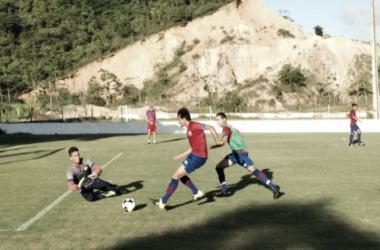 Grupo alvirrubro segue preparação para jogo contra Alviverde da Estrada do Arraial (Foto: Divulgação/Náutico)