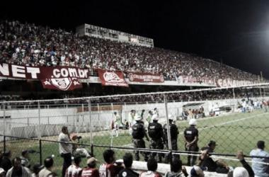 Em 2009, no Lacerdão, o Náutico bateu o Santo André por 2 a 1 diante de 13.434 torcedores (Foto: Divulgação/Twitter)