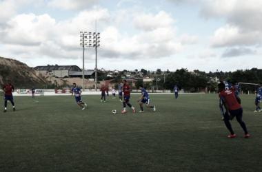 Náutico em jogo treino contra AGAP-PE (Foto: Divulgação/Náutico)