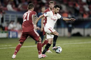 """Jesús Navas: """"El trabajo del equipo ha sido muy bueno, ha peleado hasta el final"""""""