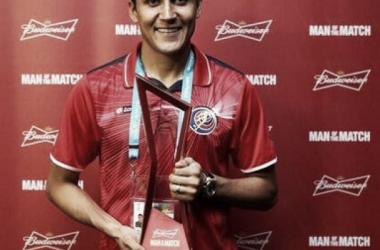 Keylor Navas, nombrado mejor jugador del partido