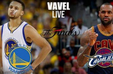 Score Golden State Warriors - Cleveland Cavaliers in 2016 NBA Finals