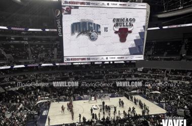 Magic le gana la partida a los Bulls en la Ciudad de México