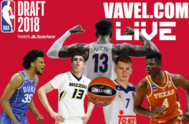 2018 NBA Draft Live Coverage: Draft order, trades, and rumors