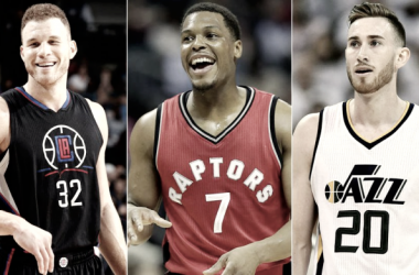 Blake Griffin, Kyle Lowry, and Gordon Hayward are just a few names that headline this year's NBA free agent class. Where will they go? Find out in this year's free agent roundtable discussion. Photo Edit: SI.com