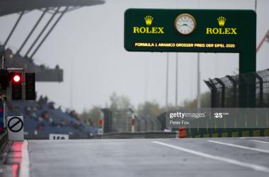 Imola-like testing practised as both FP1&2 fail to go ahead - Eifel GP