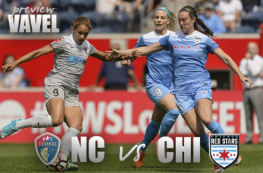 Chicago looks to make ground as North Carolina tries to pull even farther away from the chasing pack.