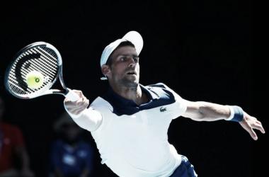 Novak Djokovic. Fonte: Australian Open/Twitter