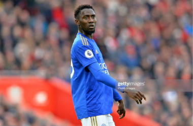 Wilfred Ndidi in action for Leicester | Photo: Getty/ Plumb Images