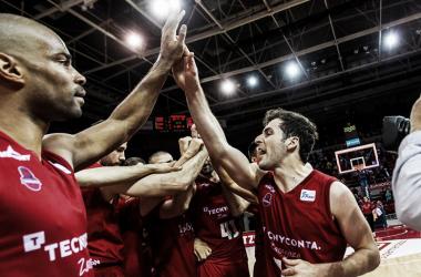 Neal no pudo despedirse ayer con una victoria/ Foto: Basket Zaragoza