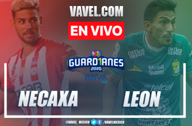 Goles y resumen del Necaxa 0-2 León en Liga MX 2020