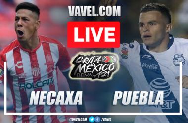 Goal and Highlights: Necaxa vs Puebla in Liga MX 2021