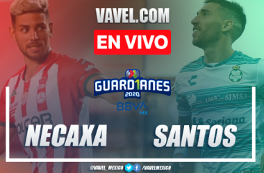 Resumen y goles del Necaxa 2-1 Santos en Guard1anes 2020 Liga MX