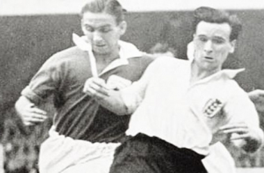 Neil Franklin, one of three British players to move to Colombia in the 1950s