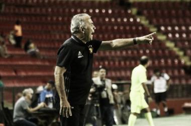 Comandante garante não ter base titular definida no Leão para sequência da temporada (Foto: Williams Aguiar/Sport)