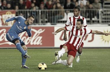 Almería-Real Madrid : puntuaciones del Almería, jornada 14