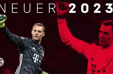 Manuel Neuer Extends Bayern Munich Contract Until 2023