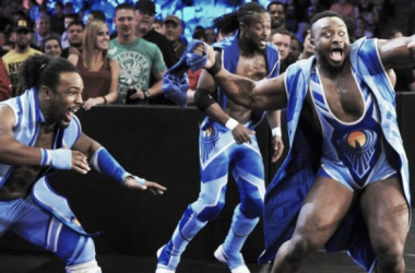 New Day's gimmick has been fantastic. Photo-WWE.com