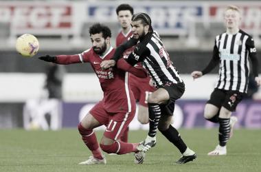 Liverpool fica no empate com Newcastle e tem liderança da Premier League ameaçada